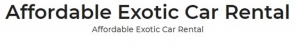 European Direct Exotic Car Rental Las Vegas