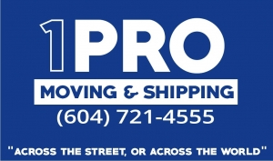 1 Pro Moving & Shipping - Movers Burnaby