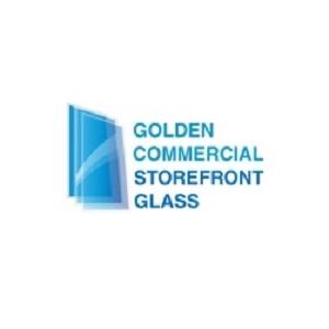 Golden Commercial Storefront Glass