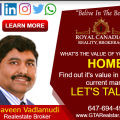 Naveen Vadlamudi - GTA Realstar Inc
