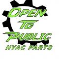 Open To Public HVAC Parts