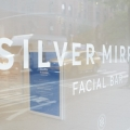 Silver Mirror Facial Bar