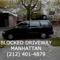 Blocked Driveway Towing Manhattan